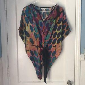 Multi-colored blouse